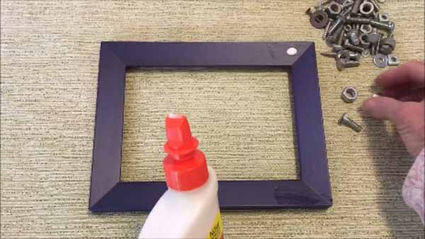 Dad Nuts and Bolts Picture Frame - Dab Glue