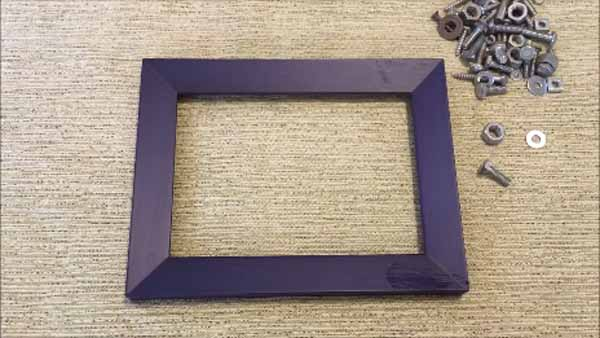 Dad Nuts and Bolts Picture Frame - Hardware