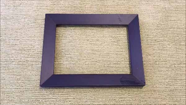 Father's Day Craft for Kids - Nuts and Bolts Picture Frame