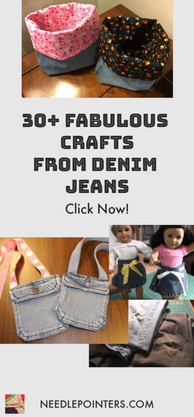 Denim Jeans  & Skirt  Crafts