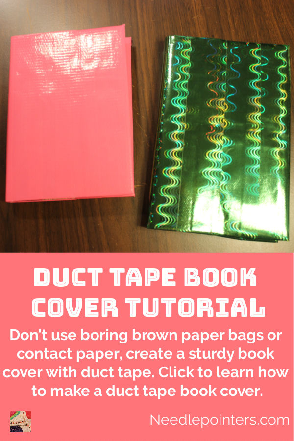 Duct Tape Book Cover - pin