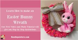 Easter Wreath (Dollar Store Craft)