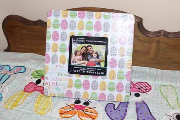 Easter Egg Decoupage Frame