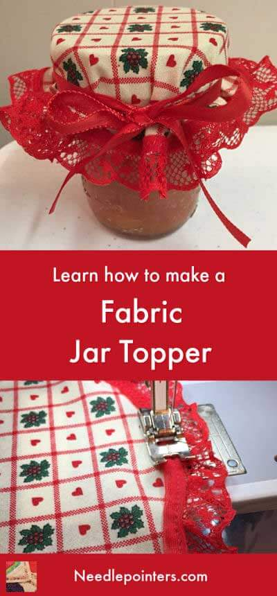 Fabric Jar Topper