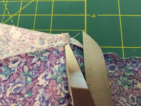 Fabric Shoe Bag Tutorial