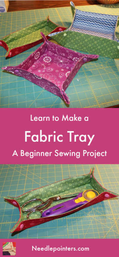 Fabric Tray Tutorial - Pin