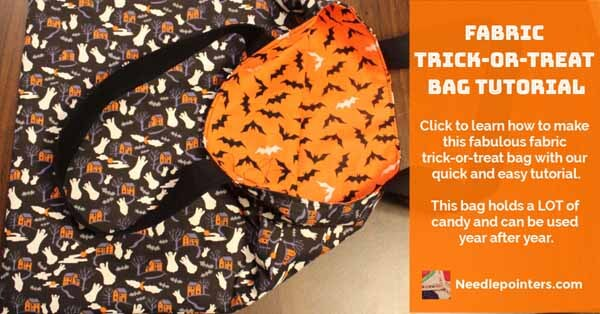 Fabric Trick or Treat Bag Tutorial