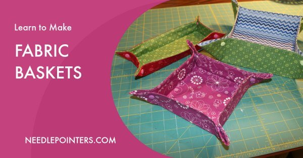 Fabric Basket Tutorial - Facebook Ad