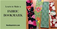 Bookmark - Fabric Bookmark (Beginner Sewing Project)