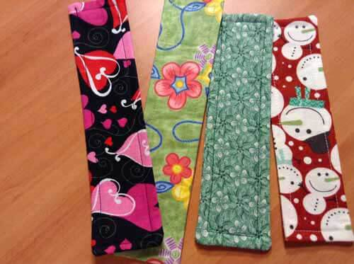 Fabric Bookmark - Finished Bookmarks