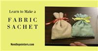 Sachet Bag - Fabric Sachet Bag (Simple Sewing Project)