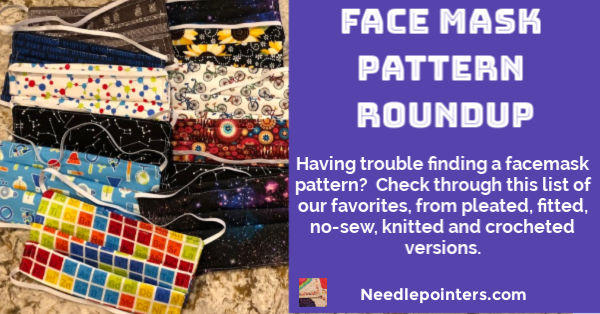 Face Mask Pattern Roundup - fb