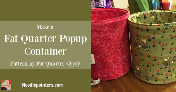Fat Quarter Pop Up Basket Facebook ad