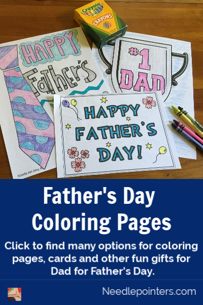 Fathers Day Coloring Pages - pin