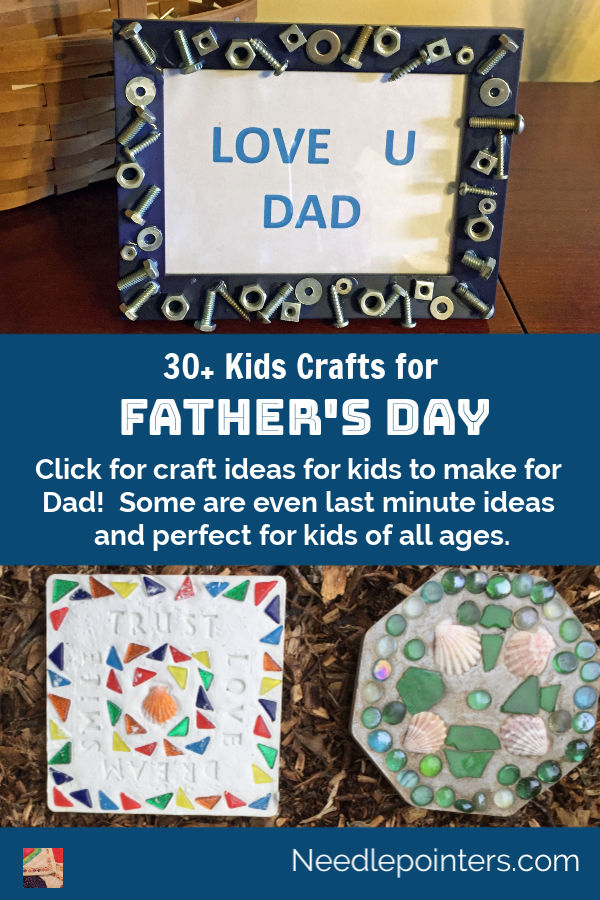 Father's Day Craft Ideas - pin