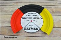 Super Hero Father's Day Craft