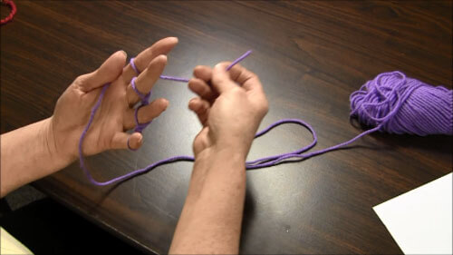 Finger Knitting Tutorial - Tail