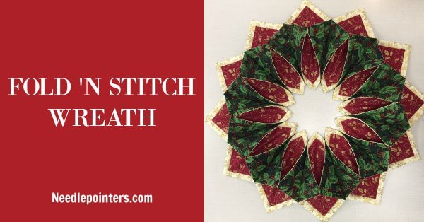 Holiday Fold'n Stitch Wreath - Facebook