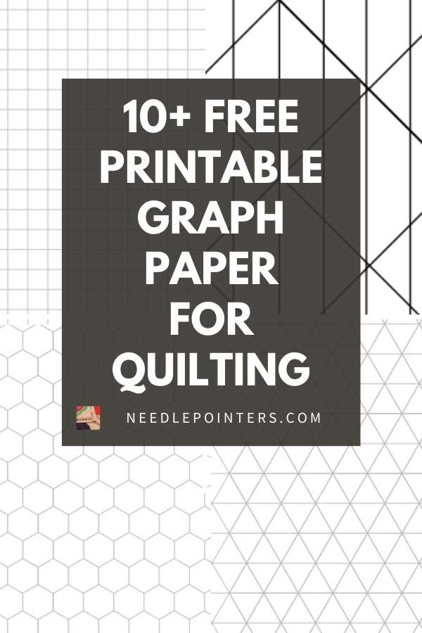 15+ FREE Printable Graph Paper for Quilting