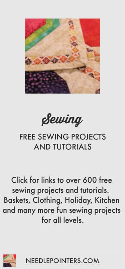 600+ FREE SEWING PROJECTS AND PATTERNS