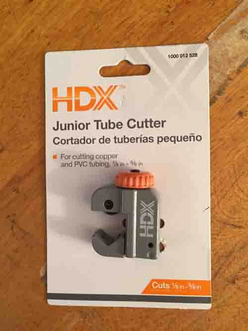 HDX Junior Tube Cutter