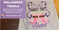 Halloween Hanging Towels