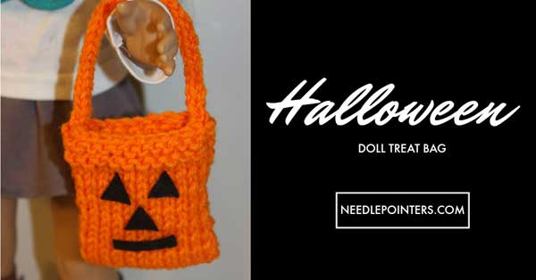 Doll Trick or Treat Bag