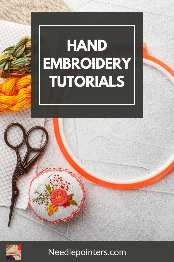 Hand  Embroidery Tutorials