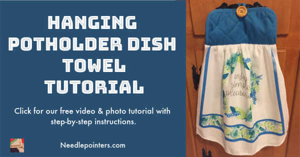 Hanging Potholder Kitchen Towel