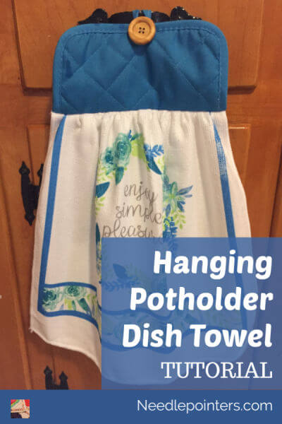 Hanging Kitchen Potholder Towel