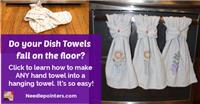 Hanging Hand Towel with Kam Snaps