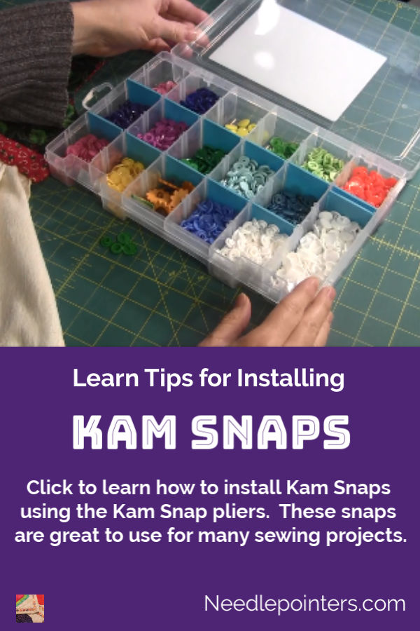 How to Install Kam Snaps - pin