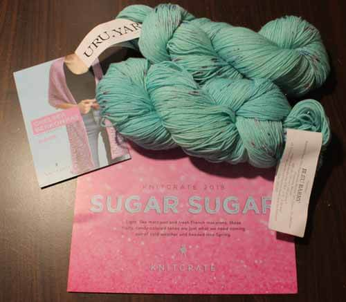 KnitCrate Monthly Subscription Package for March 2018