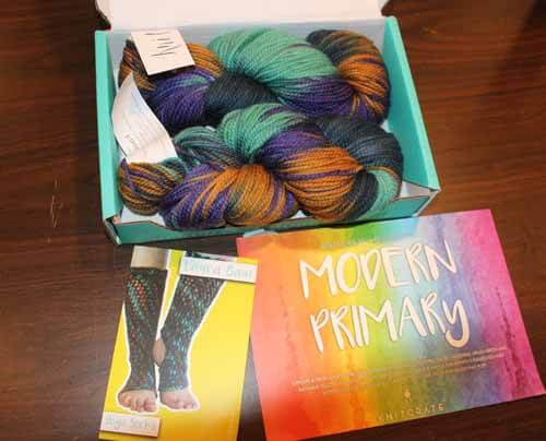 June Knitcrate package