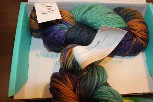 May Knitcrate package