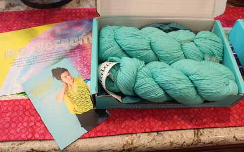 Knitcrate June Subscription Package