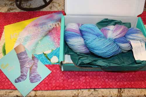 Knitcrate June Sock Subscription Package
