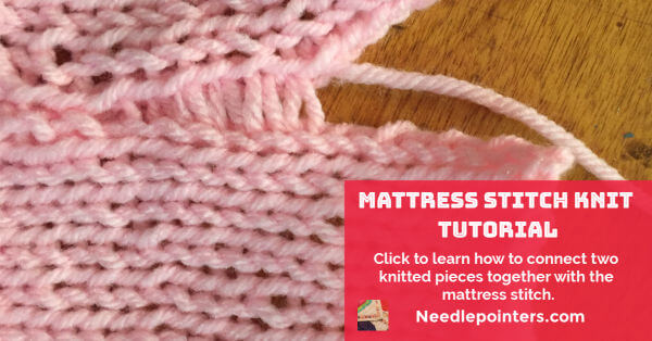 Knitting - Mattress Stitch Tutorial - Facebook