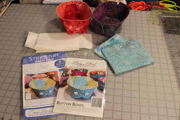 Lazy Girl Designs Button Boats - Supplies