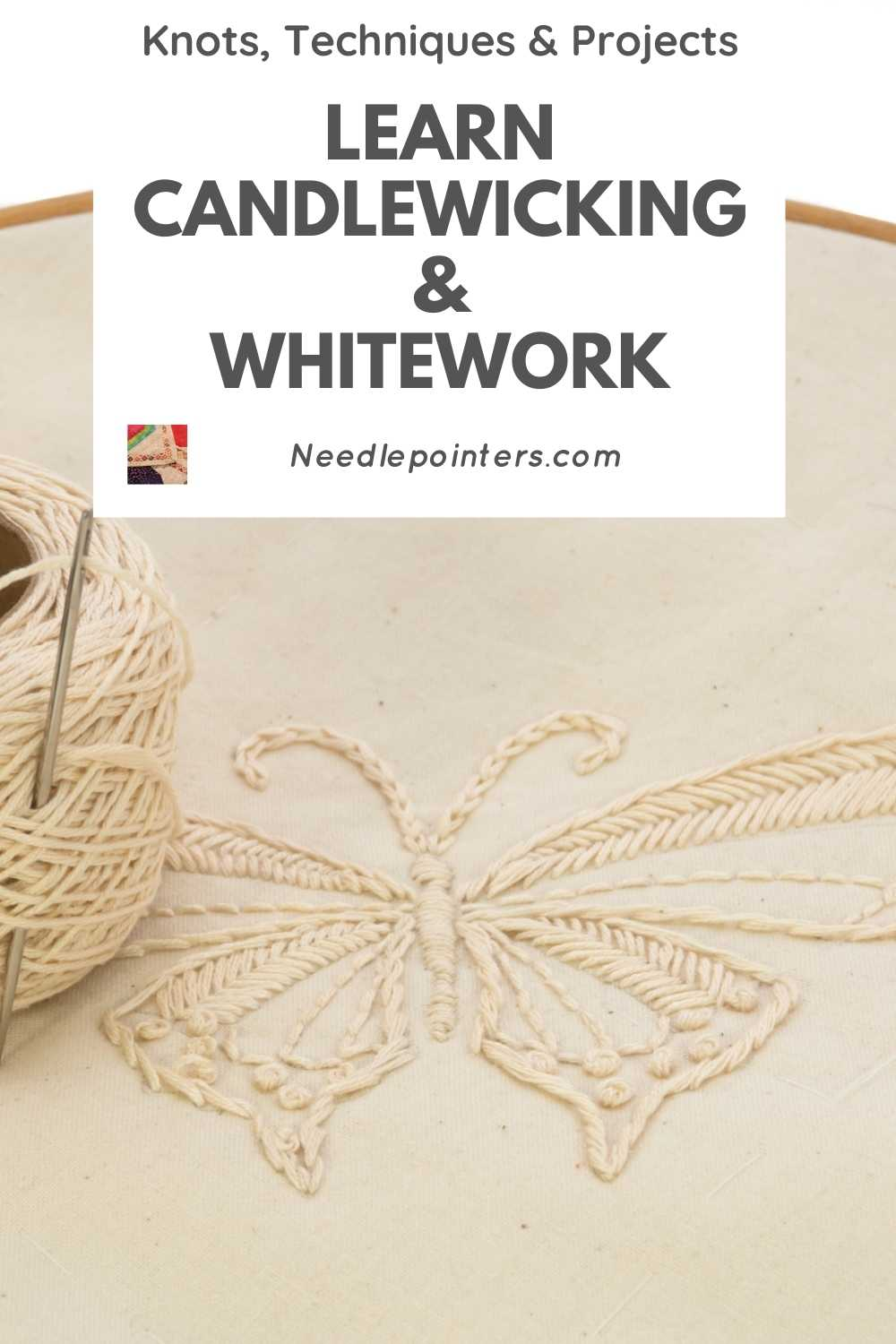 The History and Technique of Candlewicking and Whitework