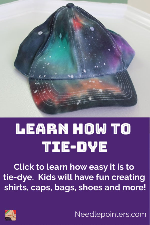 Learn how to Tie-Dye - pin