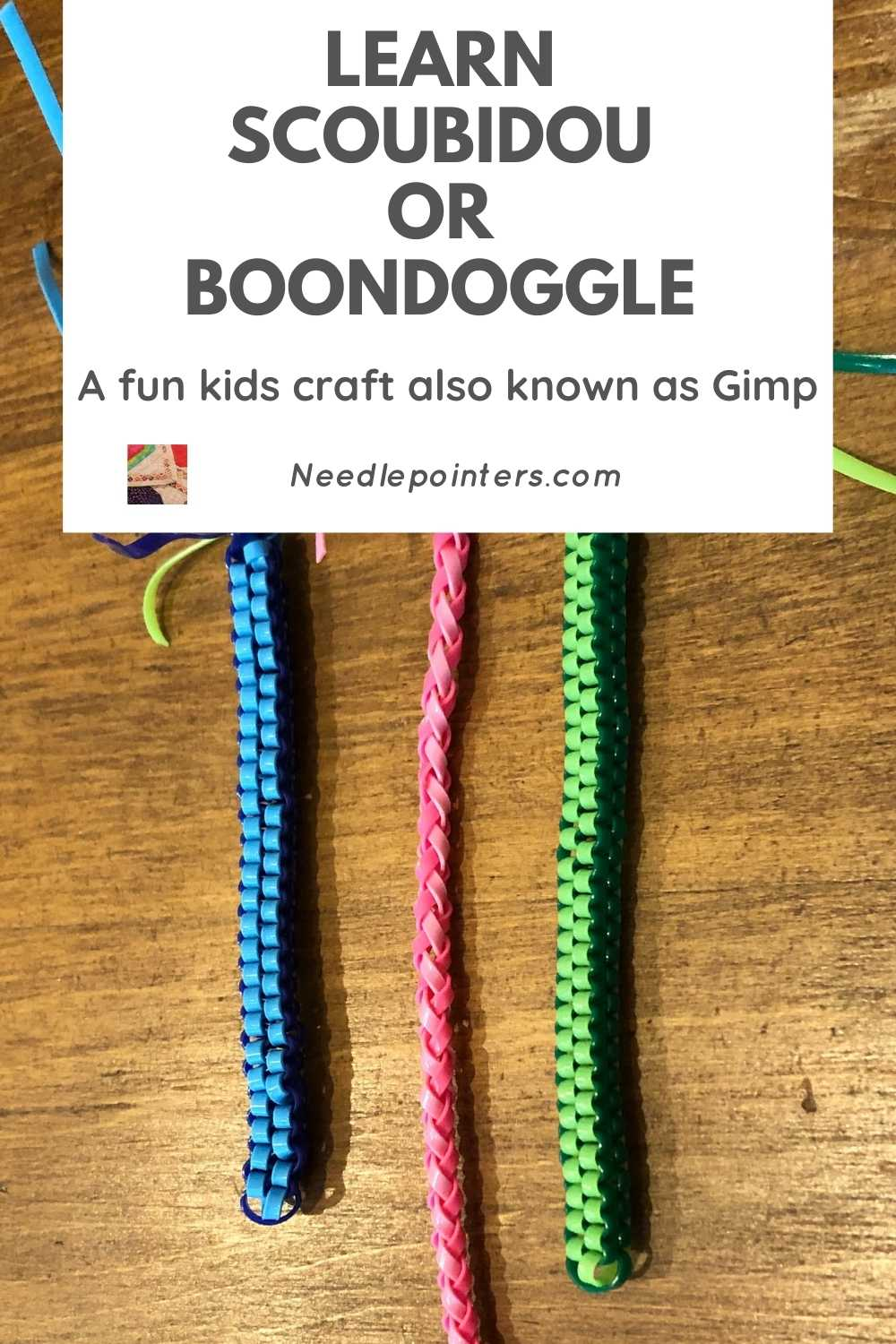 The Fun Craft Of Scoubidou Or Boonedoggle Needlepointers Com