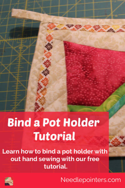 Learn to Bind a Pot Holder - Pin