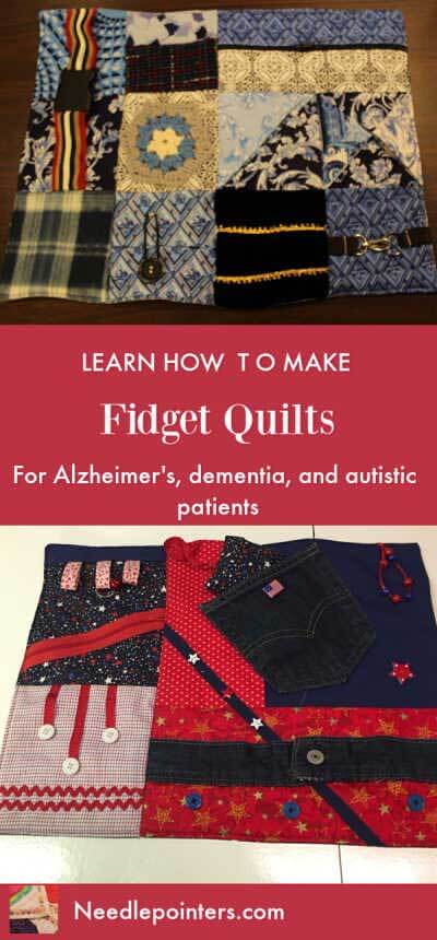 Learn to make Fidget Quilts - Pin