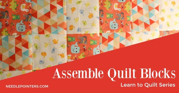 Learn to Quilt - Finished Quilt Top