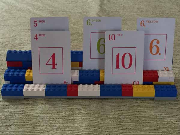 Lego Playing Card Holder - Cool Lego Idea
