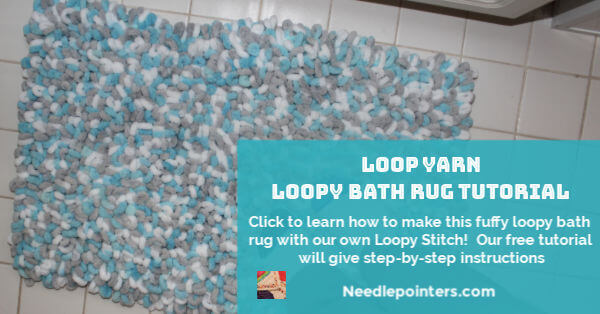 Loop Yarn Loopy Bath Rug Tutorial - Facebook