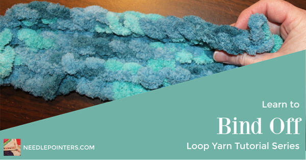 Loop Yarn Binding Off - Facebook ad