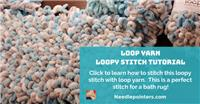Loop Yarn - Loopy Stitch Tutorial