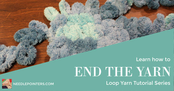 Loop Yarn End Yarn Tutorial - Ad
